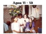 ages 11 13