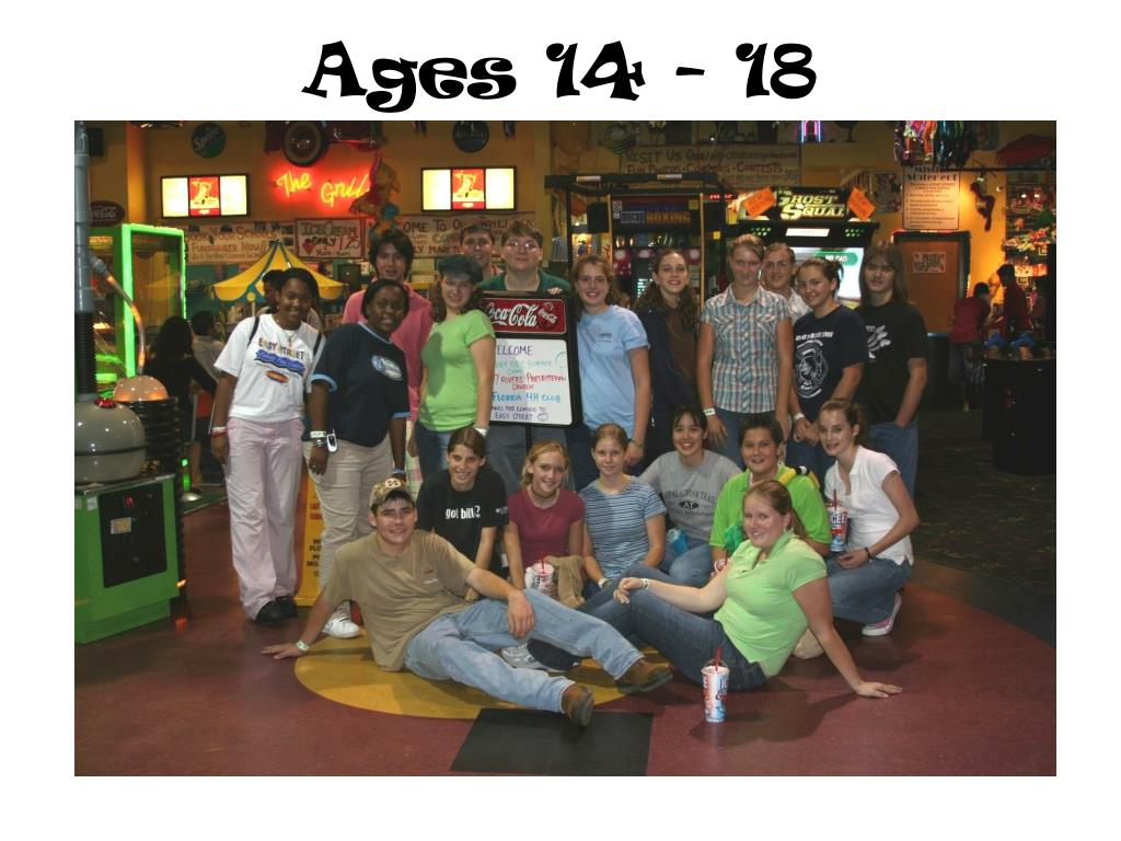 Ages 14 - 18