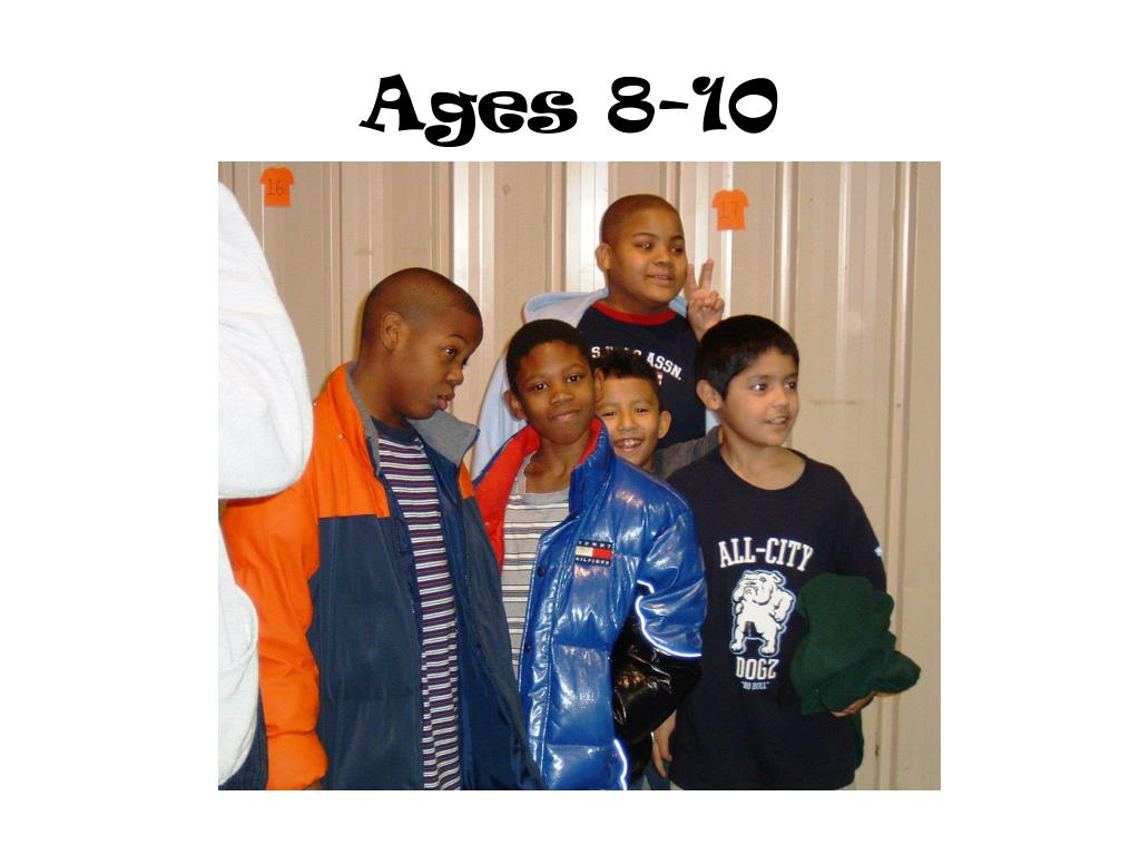 Ages 8-10