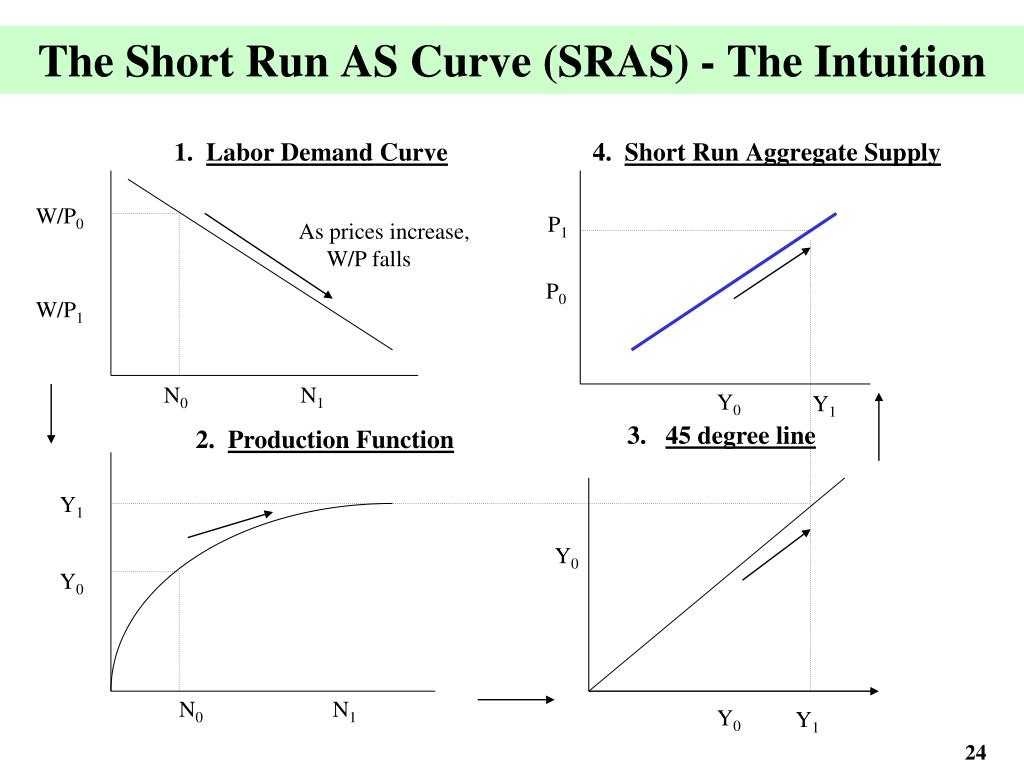 The Short Run AS Curve (SRAS) - The Intuition