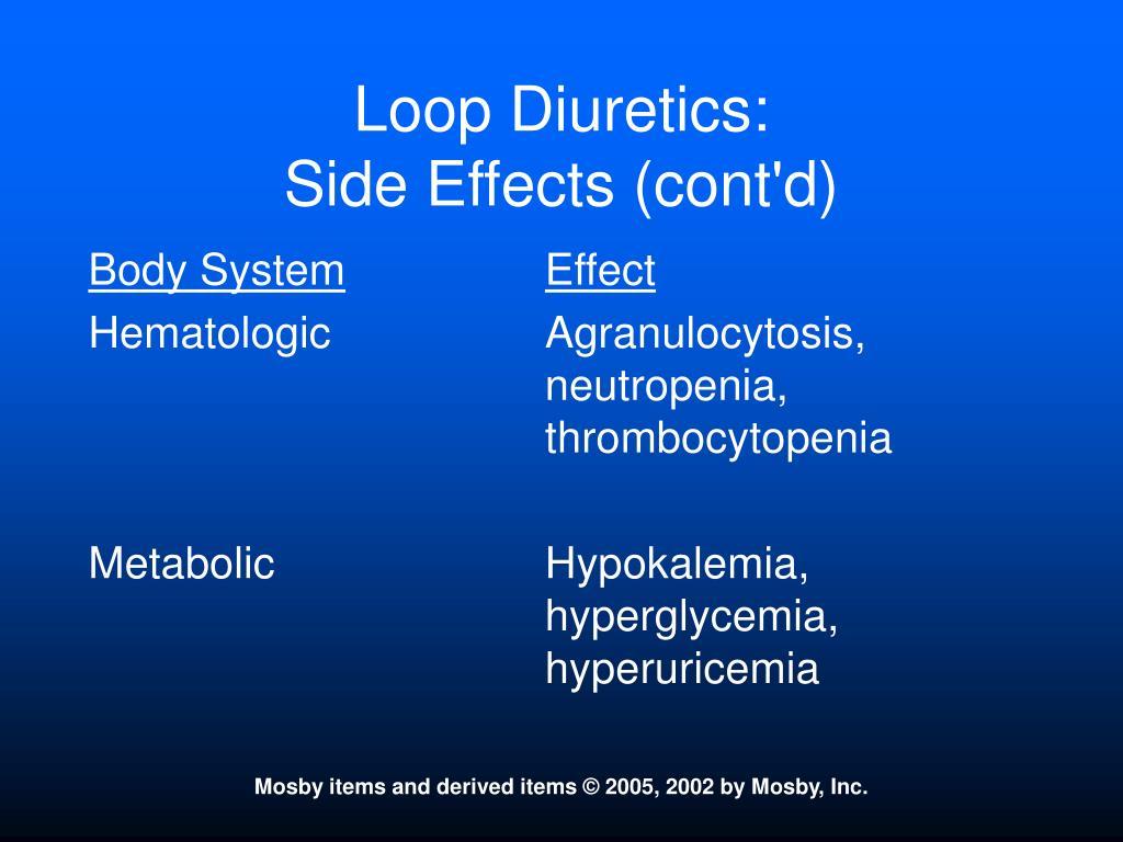 Loop Diuretics: