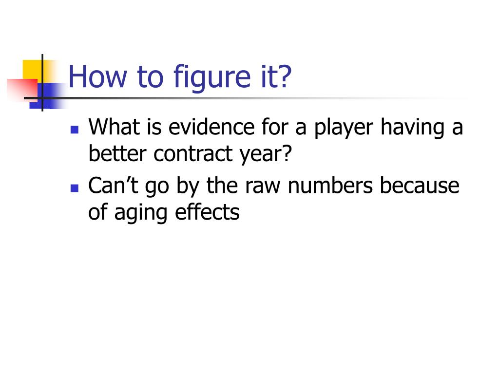 How to figure it?