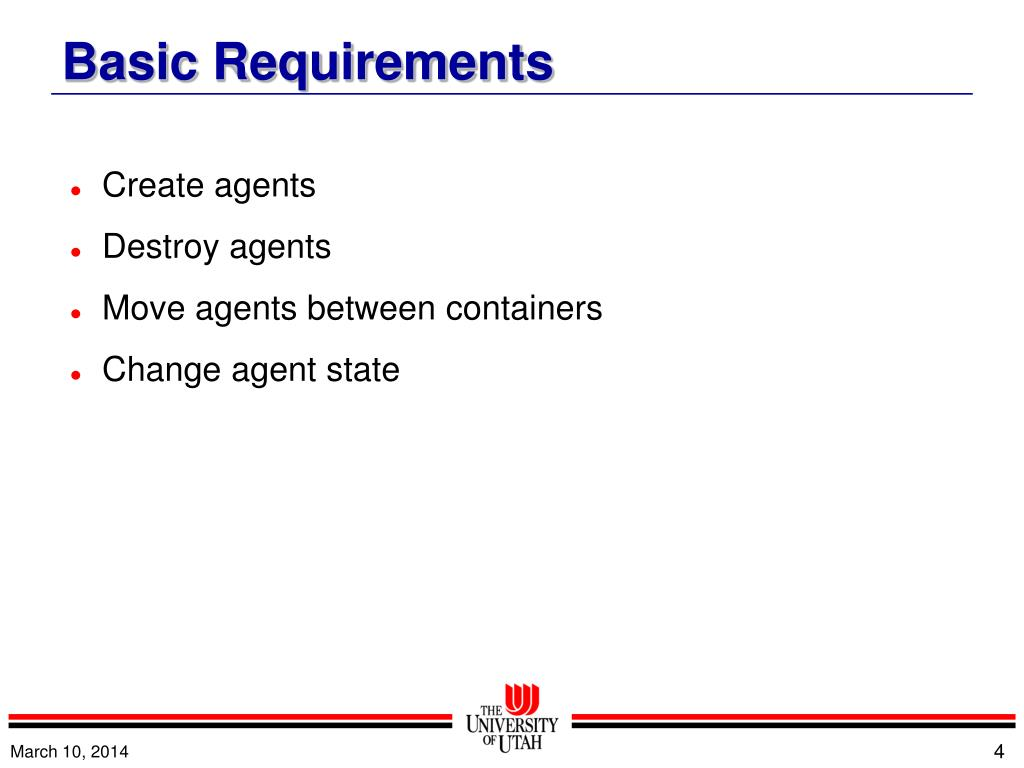 Create agents