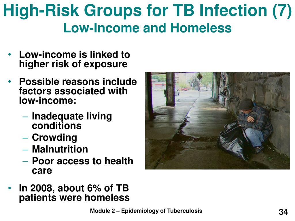 High-Risk Groups for TB Infection (7)