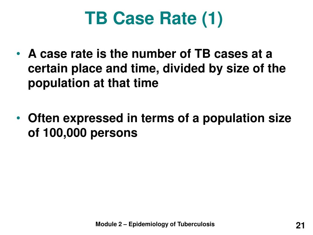TB Case Rate (1)