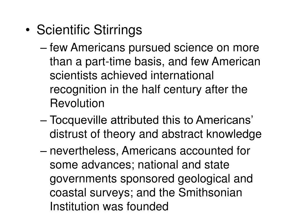 Scientific Stirrings