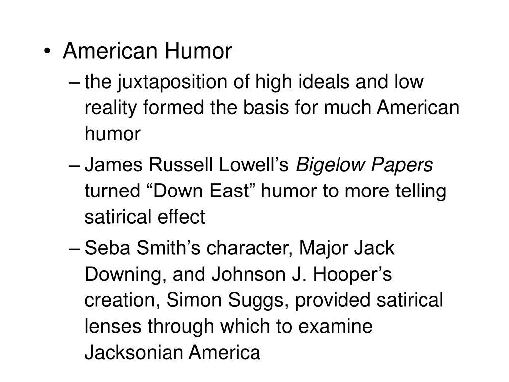 American Humor
