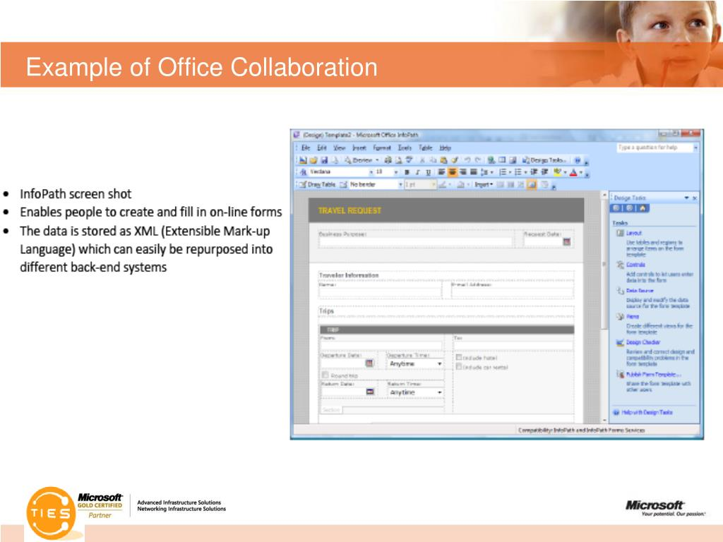 Example of Office Collaboration