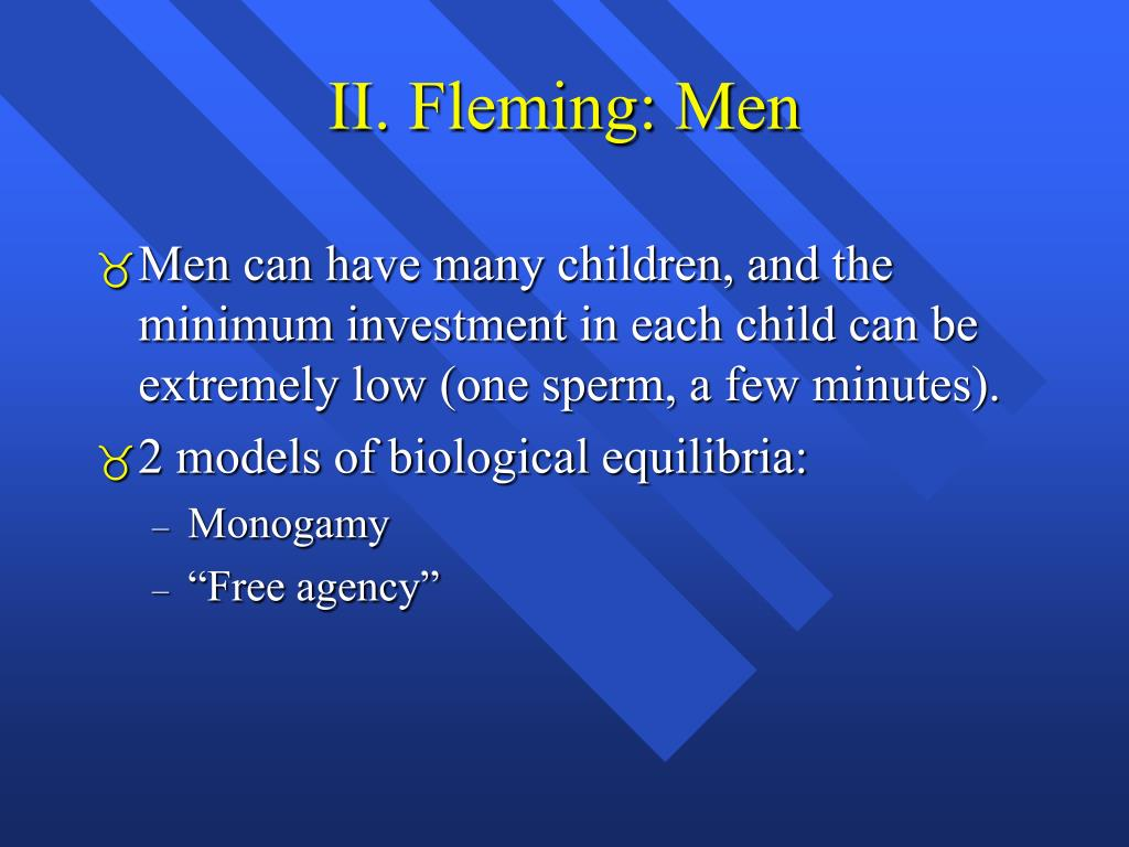 II. Fleming: Men