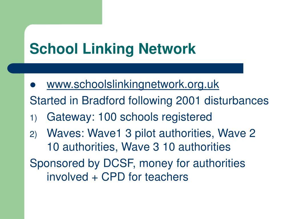 School Linking Network