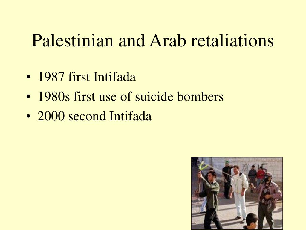 Palestinian and Arab retaliations