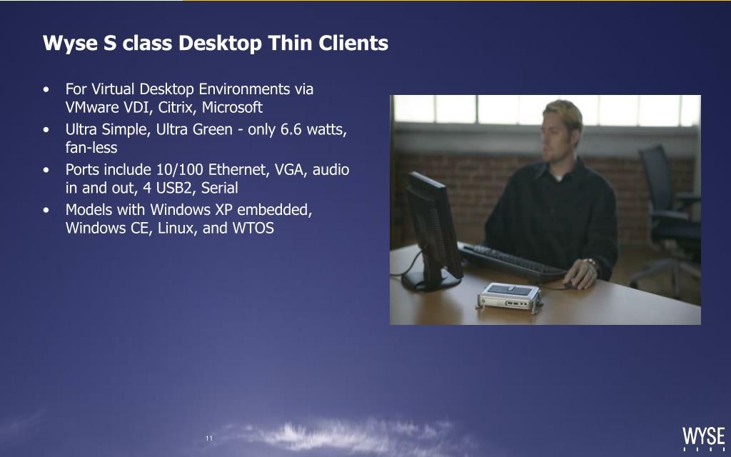 Wyse S class Desktop Thin Clients