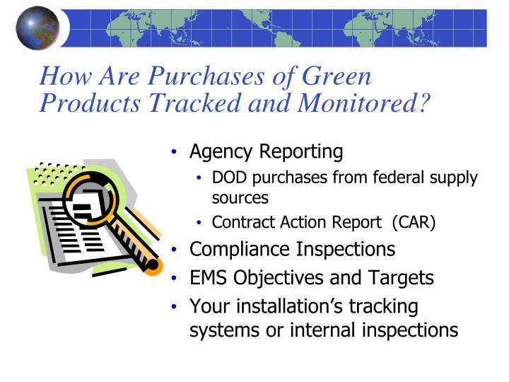 How Are Purchases of Green Products