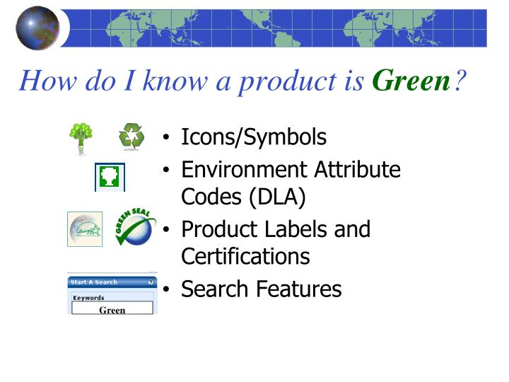 How do I know a product is