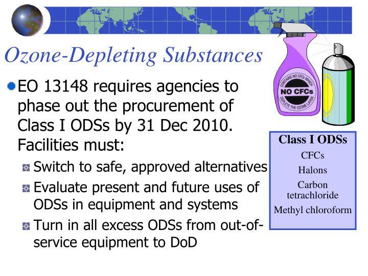 Ozone-Depleting Substances