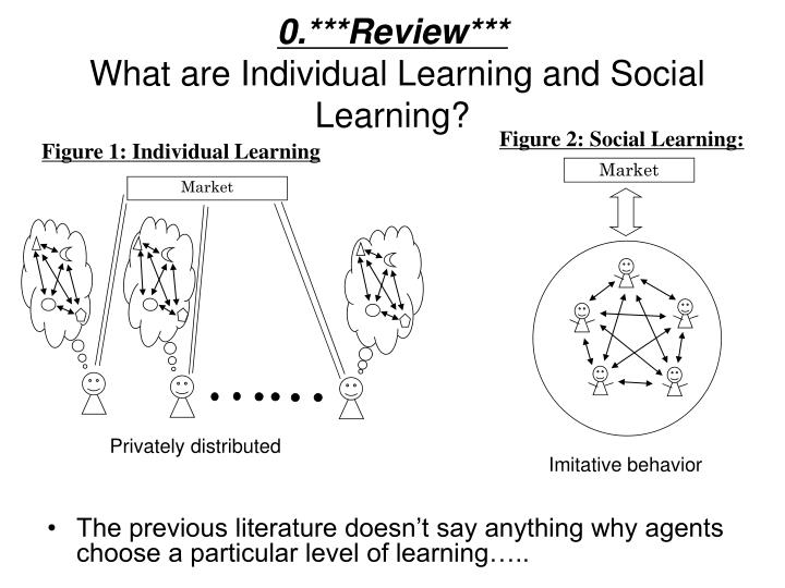 0 review what are individual learning and social learning