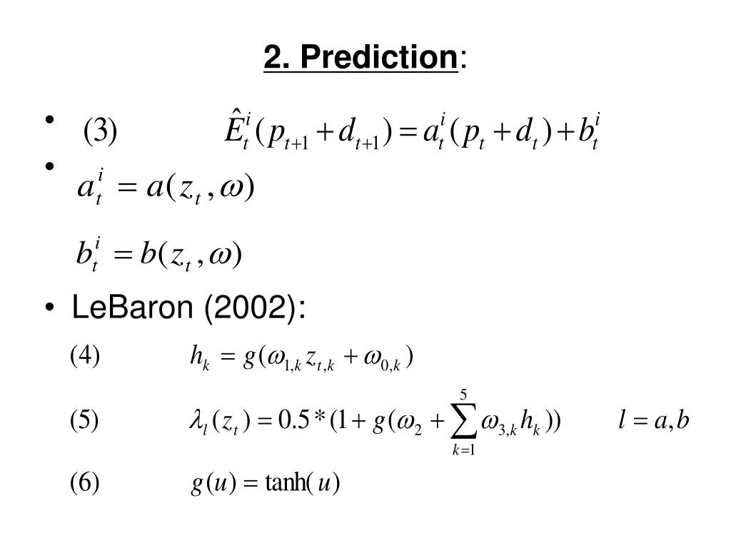 2. Prediction