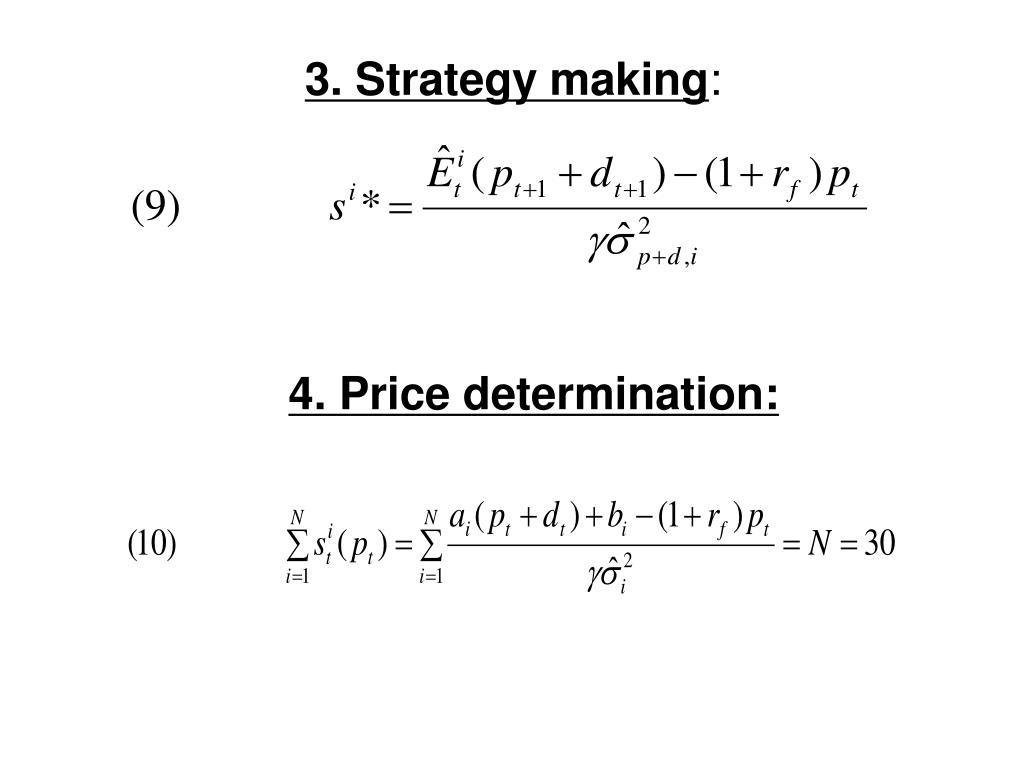 3. Strategy making