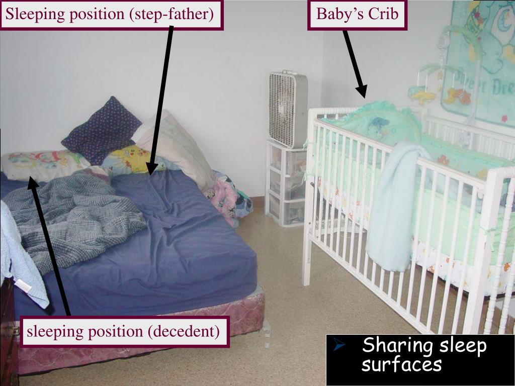 Sleeping position (step-father)