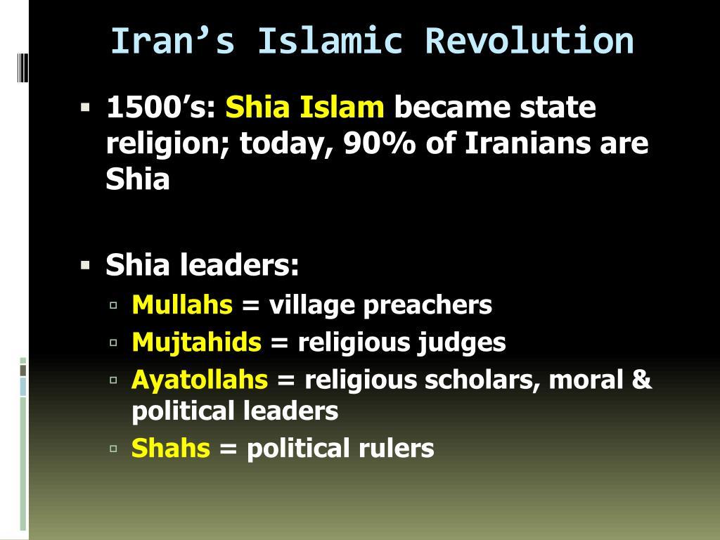 Iran's Islamic Revolution