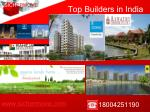 top builders in india