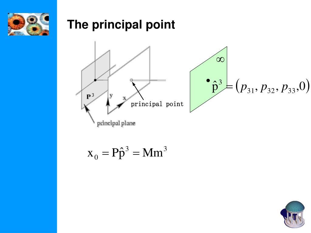 principal point