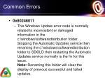 common errors4