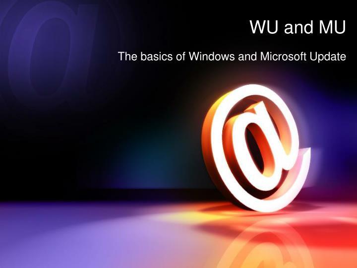 WU and MU