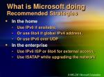 what is microsoft doing recommended strategies