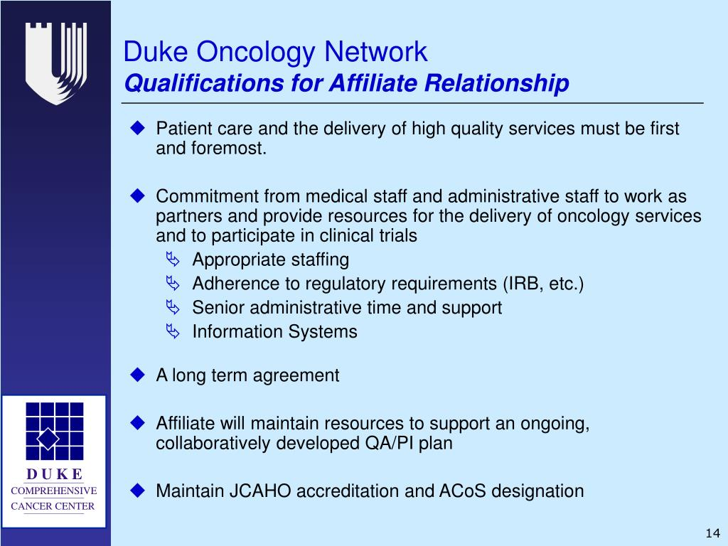 Duke Oncology Network