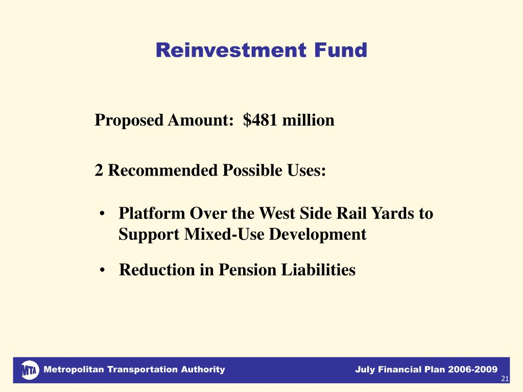 Reinvestment Fund