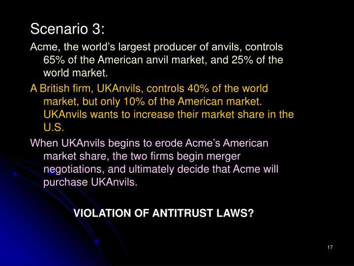 Scenario 3: