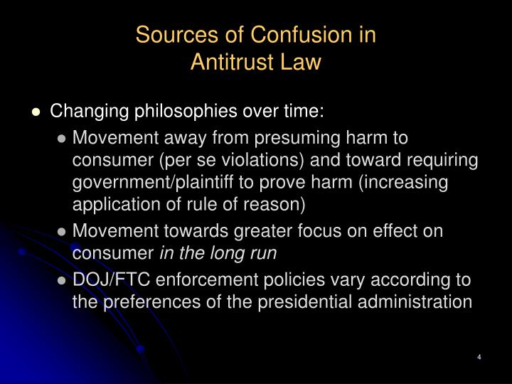 Sources of Confusion in