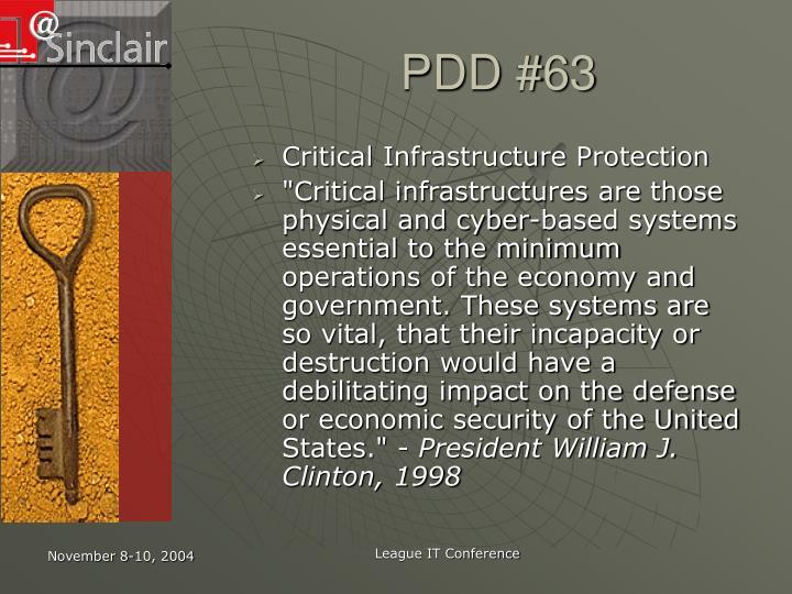 PDD #63