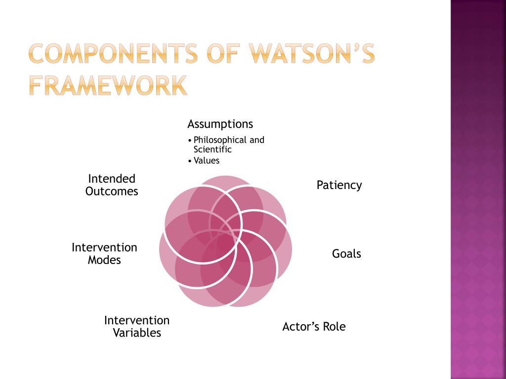 components of Watson's Framework