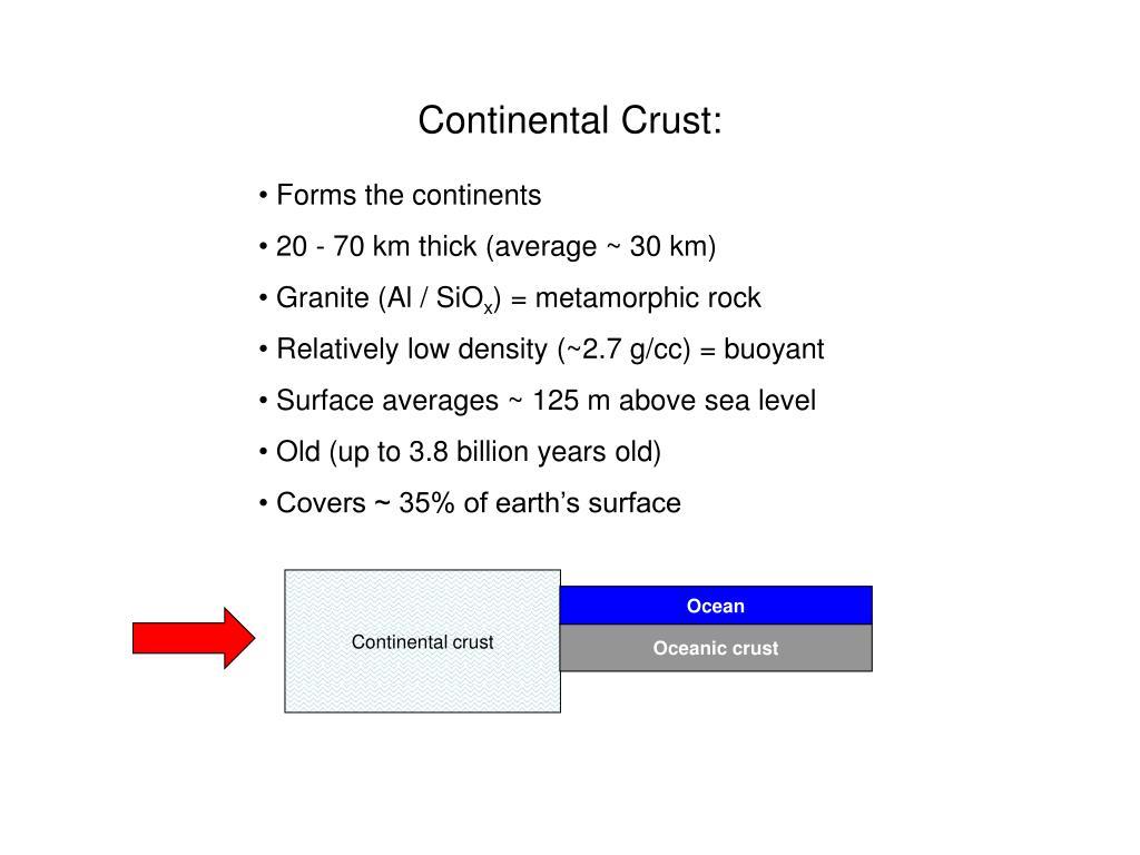 Continental Crust: