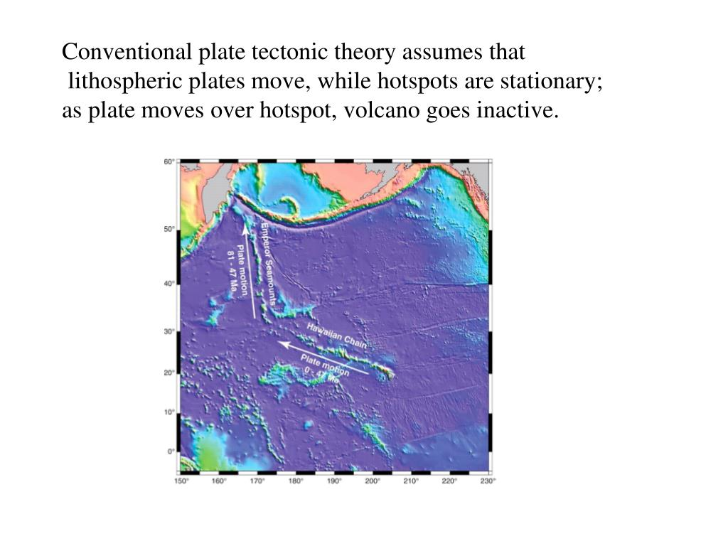 Conventional plate tectonic theory assumes that