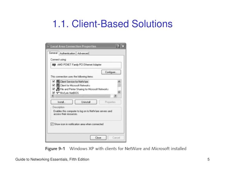 1.1. Client-Based Solutions