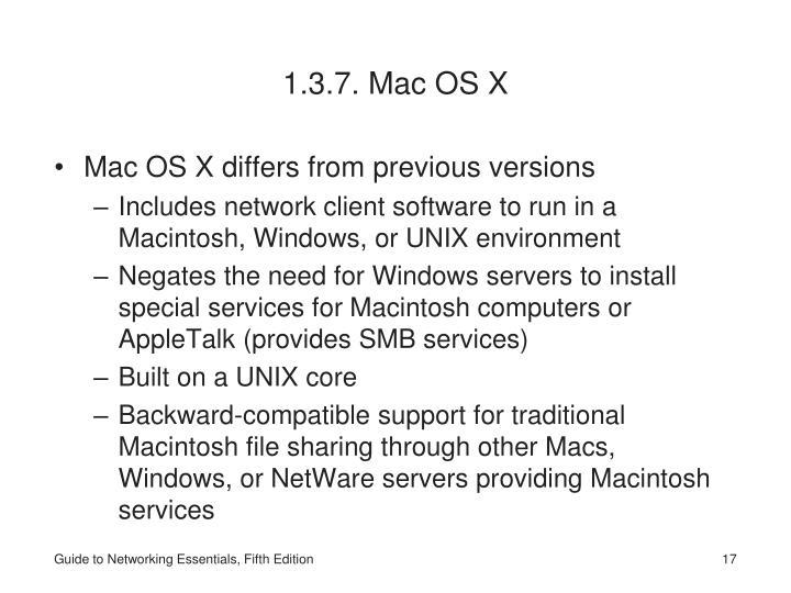 1.3.7. Mac OS X