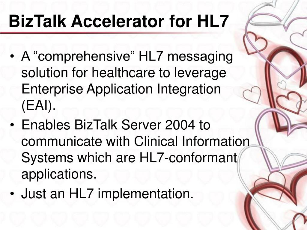 BizTalk Accelerator for HL7