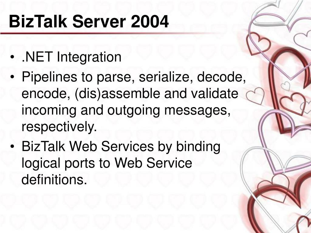 BizTalk Server 2004