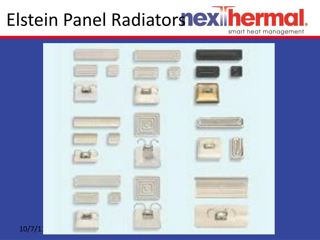 Elstein Panel Radiators