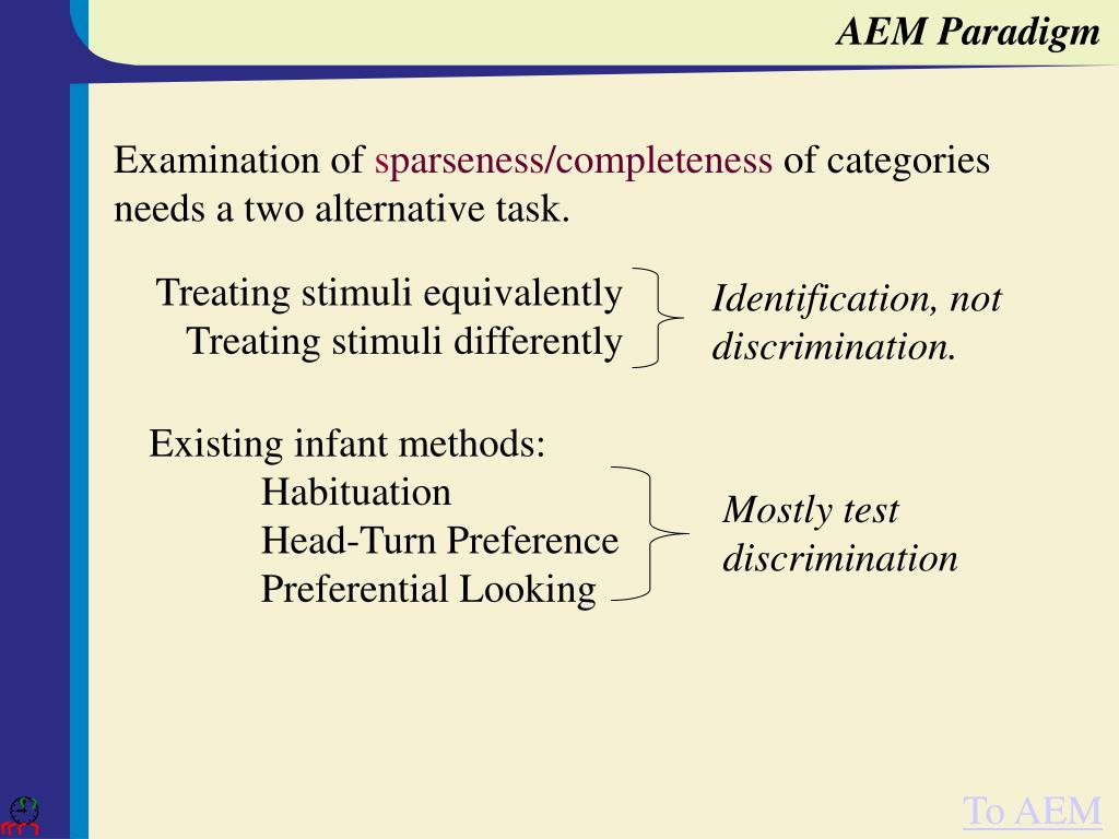 AEM Paradigm