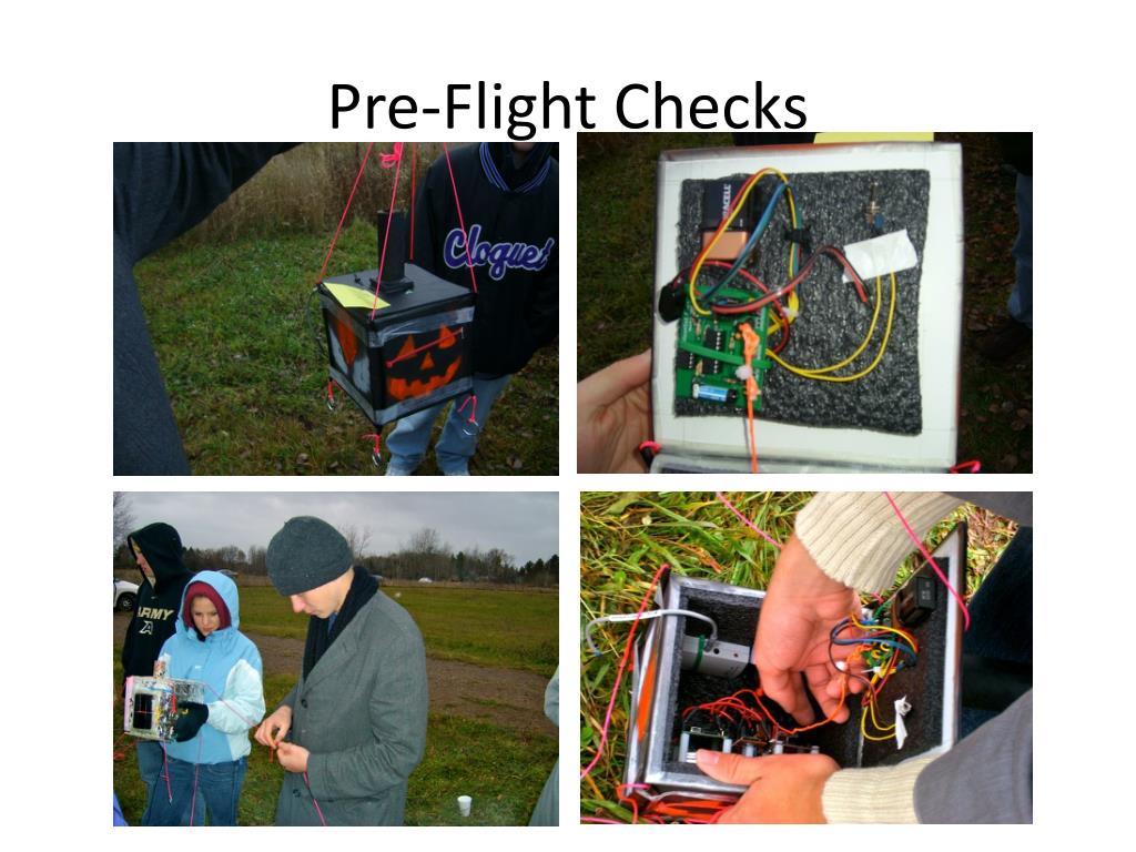 Pre-Flight Checks