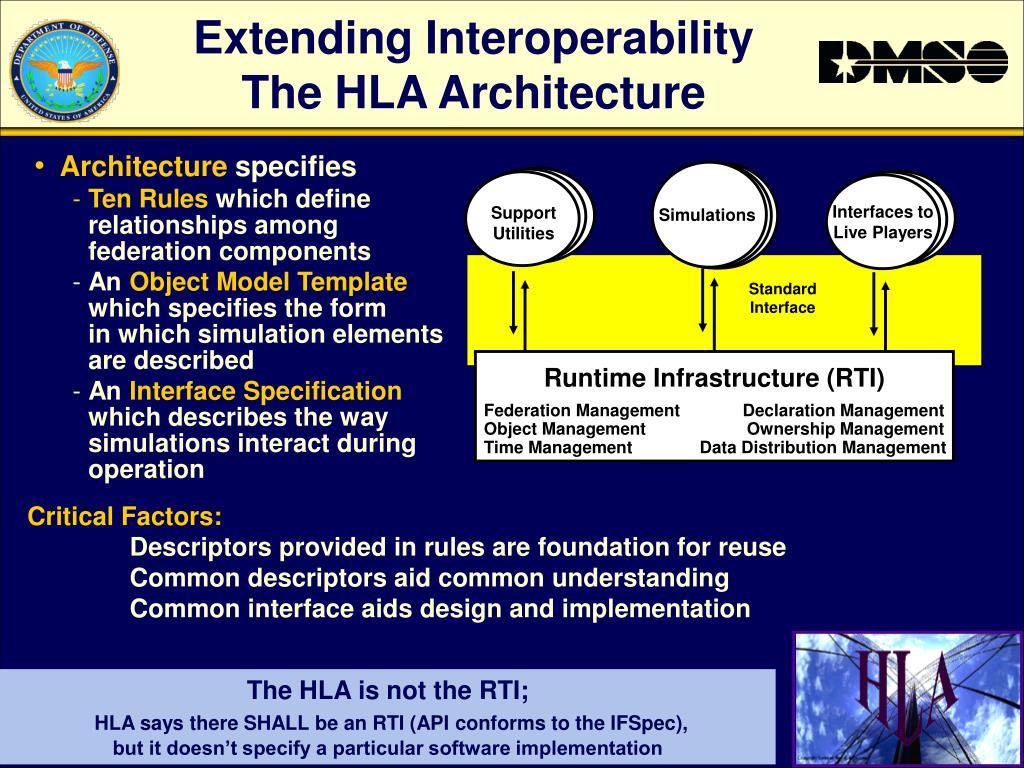 Extending Interoperability