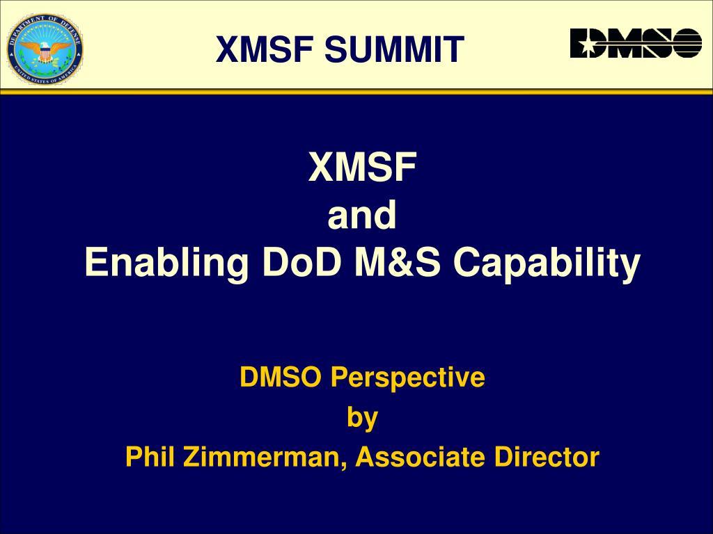 XMSF SUMMIT