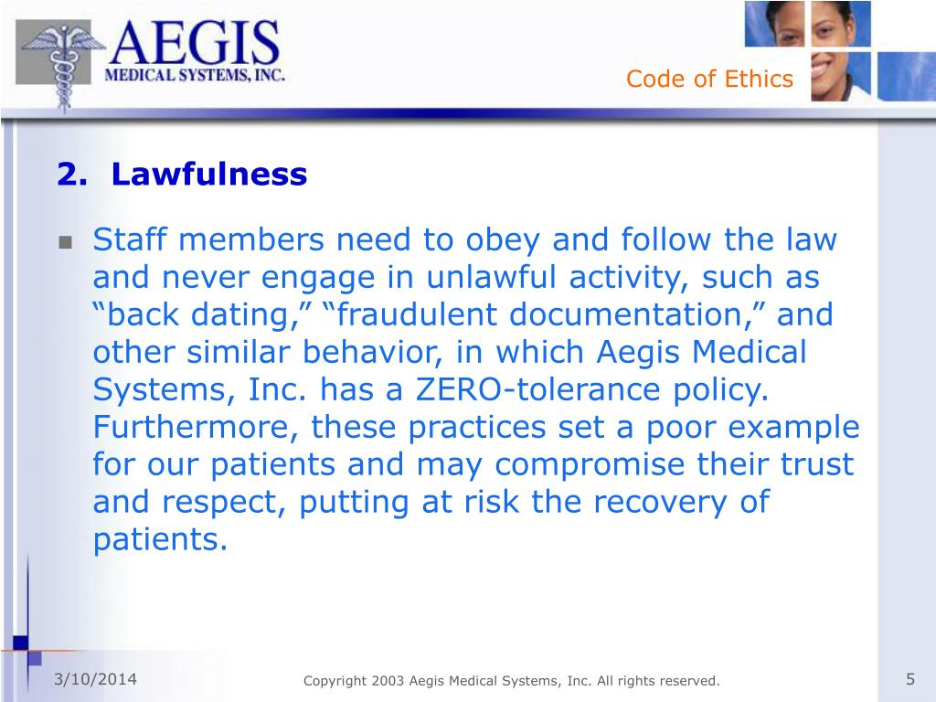 2.  Lawfulness