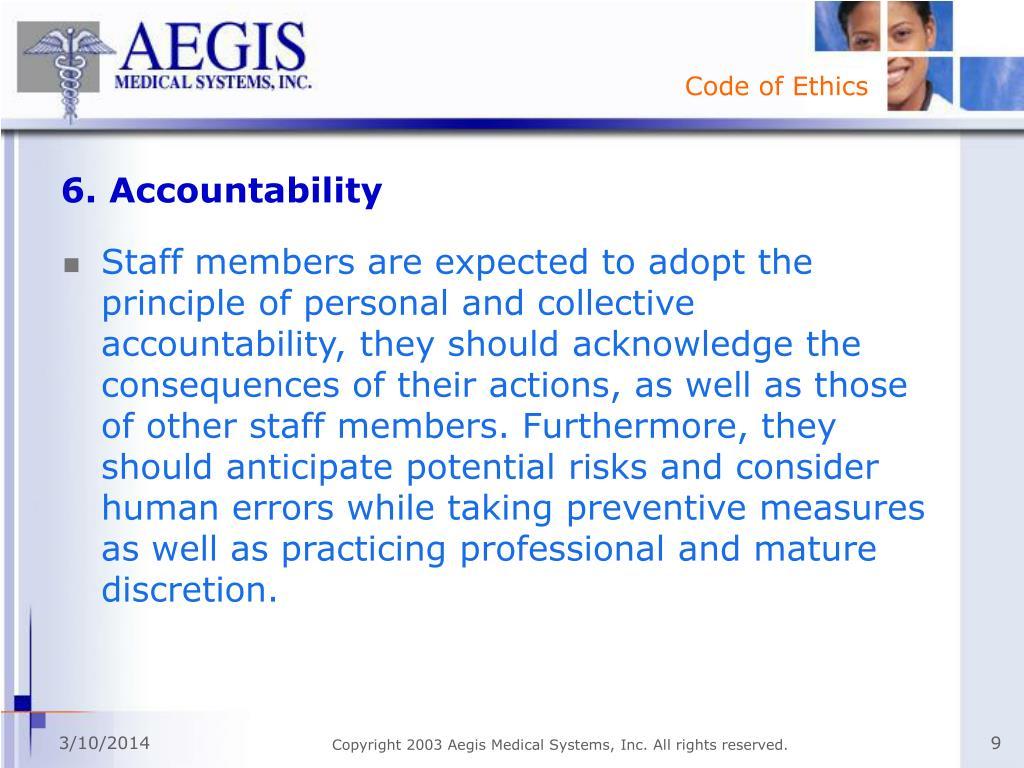 6. Accountability