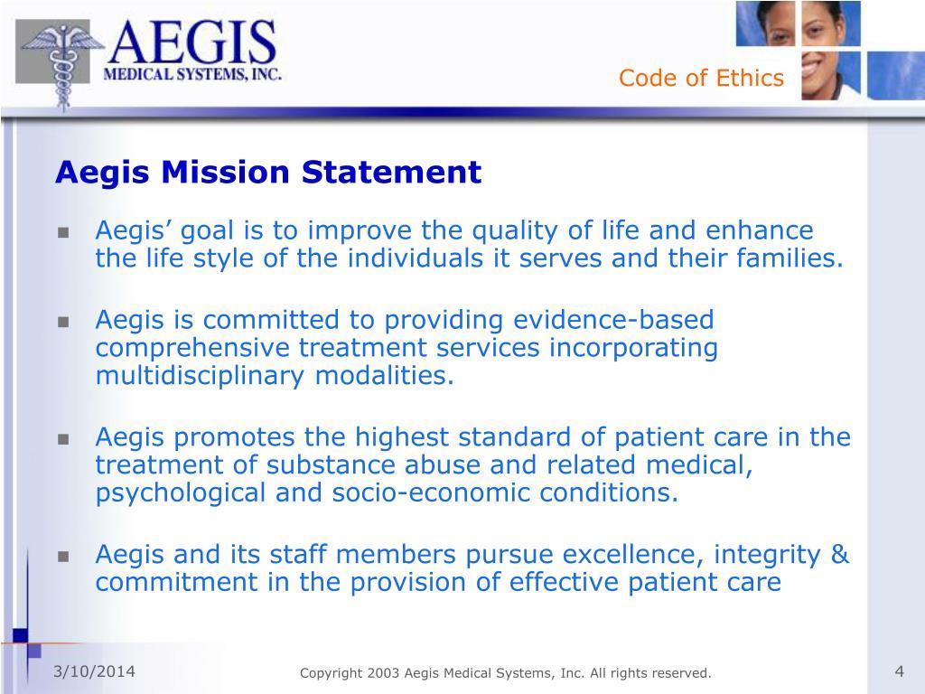 Aegis Mission Statement