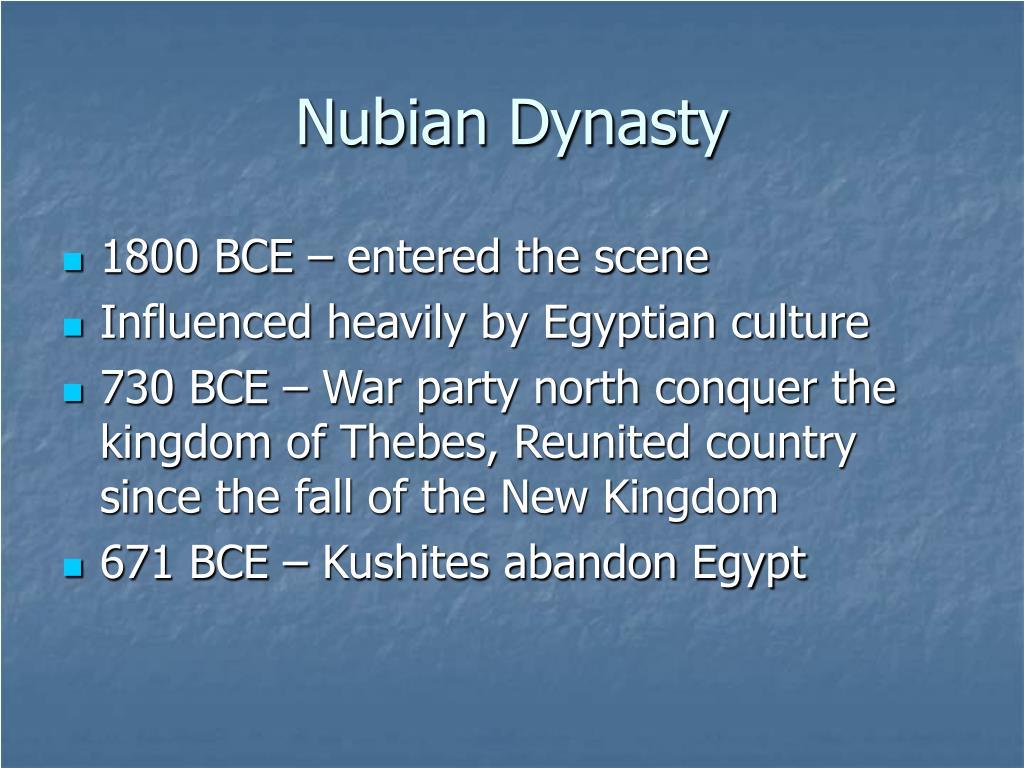 Nubian Dynasty
